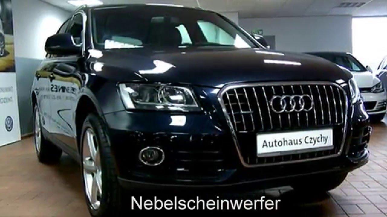 """Audi A5 2.0 T >> Audi Q5 2.0 l TDI quattro DA014100 Mondscheinblau """"AUTOHAUS CZYCHY"""" - YouTube"""
