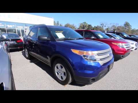 2014 Ford Explorer XLT   Full Overview & For Sale at Ravenel Ford