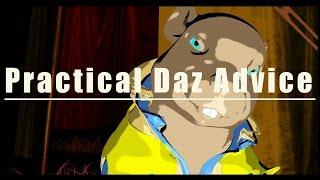 daz3d tutorial walk right stupid basic animation