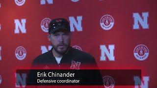 Watch: Nebraska Defensive Coordinator Erik Chinander recaps the first four days of practice