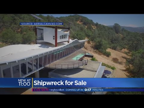 Architect Builds $3 Million Shipwreck House Overlooking Folsom Lake