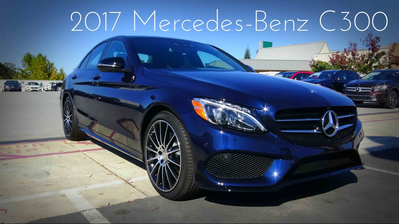 2017 mercedes benz c class c300 2 0 l turbo 4 cylinder for Mercedes benz c300 review 2017