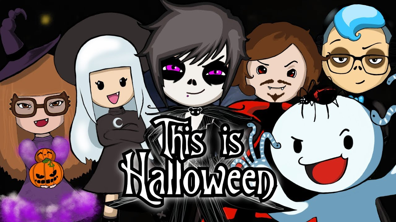 """this is halloween"""" (remix/cover) ft. theodd1sout, or3o, daydave"""