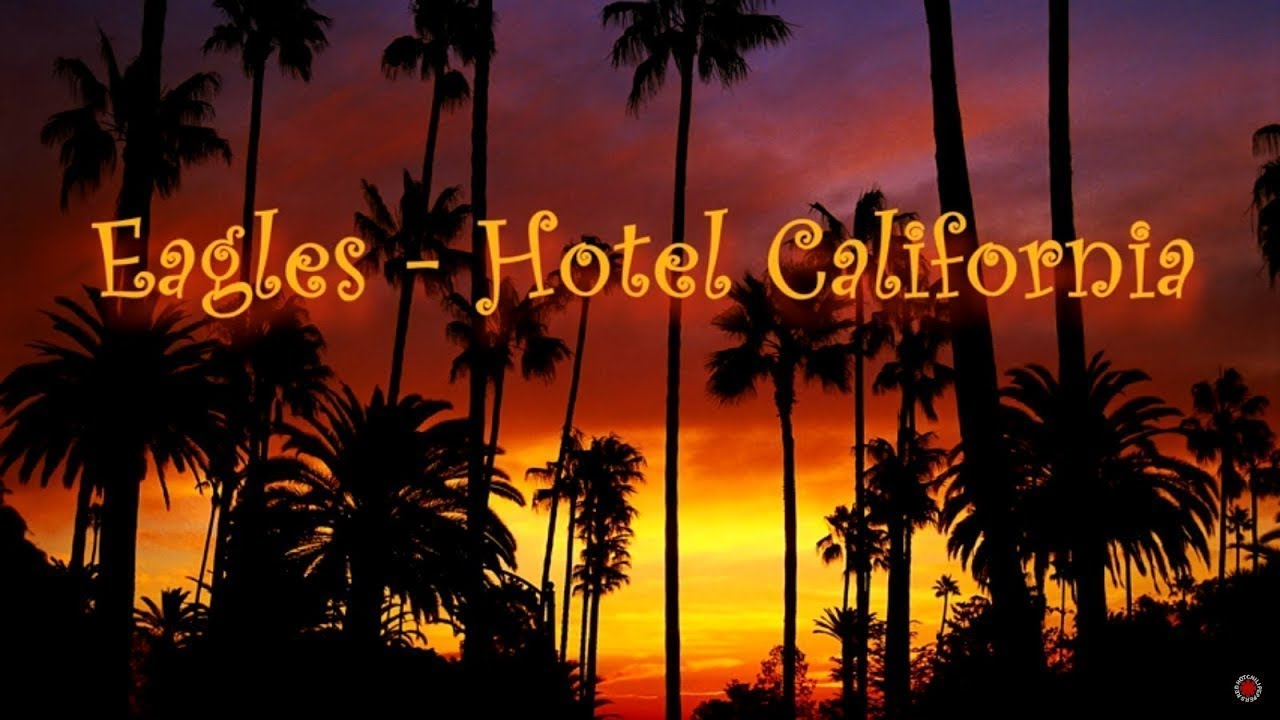 Eagles Hotel California Lyrics 1976 Hd Youtube