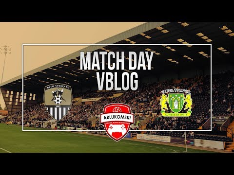 Notts County vs Yeovil Town vlog - Play-off place secure
