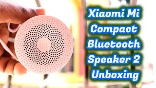 Xiaomi Mi Compact Bluetooth Speaker 2 Full Review - BIG SURPRISE in a Small Package!!!!