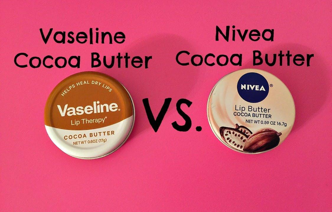 Vaseline Cocoa Butter Vs Nivea Youtube Lip