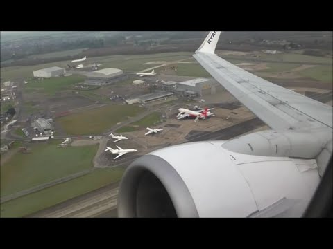 Ryanair Boeing 737-8AS | London Stansted to Gothenburg Landvetter *Full Flight*