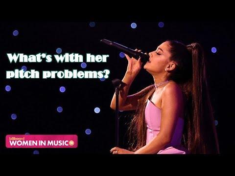 VOCAL SHOWCASE: Ariana Grande at Billboard Women In Music