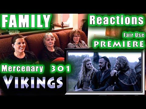 VIKINGS | FAMILY Reactions | PREMIERE | Mercenary | 301 | Fair Use