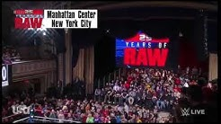 The Undertaker Returns to Raw 23-01-2018...Monday night Raw 25th Anniversary
