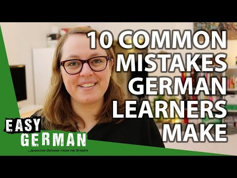 10 Common Mistakes German Learners Make | Easy German 227