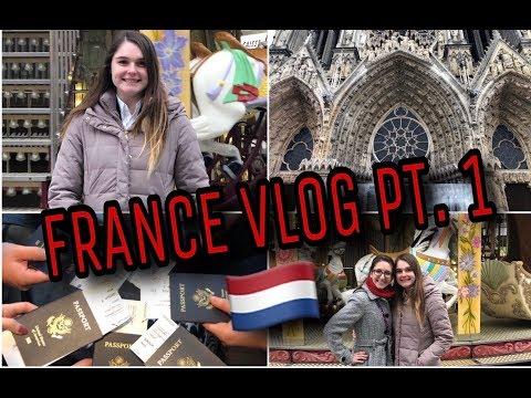 FRANCE TRAVEL VLOG PT.1