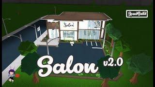 ROBLOX │Bloxburg - [SpeedBuild] Salon ver2.0