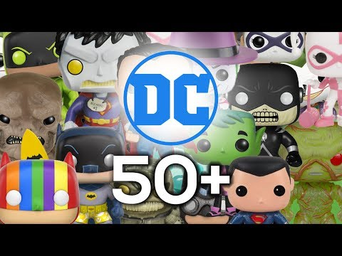 All of my DC Funko Pops!!
