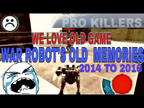 War Robot's Old Memories😭[2014 To 2016] trailers
