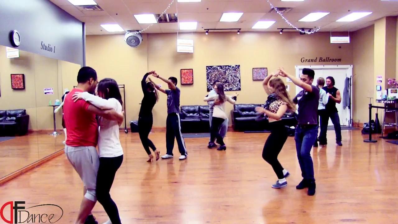 Smooth, Romantic Bachata Dancing at DF Dance Studio - Salt Lake City