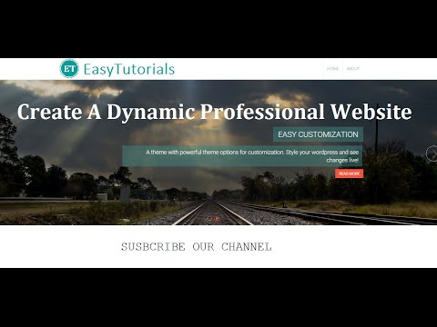 How To make A professional Website Using Wordpress | Dynamic Responsive And Professional Website
