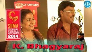 K. Bhagyaraj About Poornima Jayaram and SIIMA 2014 Awards