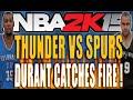 NBA 2K15 $30 Wager Match - Durant Goes Beast Mode! NBA 2K16 Screenshots Released!