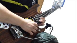 RIOT Thunder Steel guitar COVER