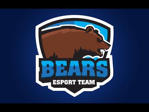 Adobe Illustrator CC Tutorial : Design E Sports / Sports Logo for Your Team - Bears Logo