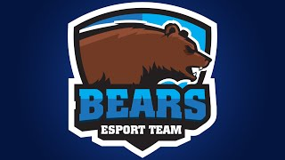 Adobe Illustrator CC Tutorial : Design E Sports / Sports Logo for Your Team - Bears Logo
