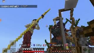 Minecraft ta pvp oynadık