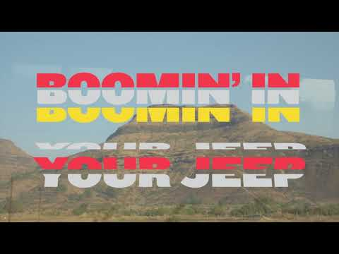 Crystal Fighters - Boomin' In Your Jeep (Lyric Video)