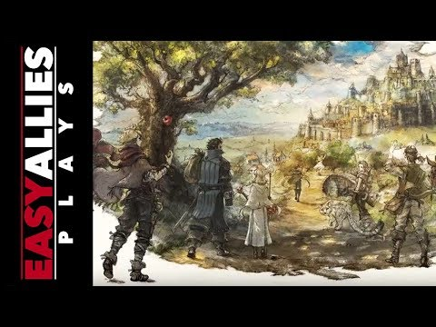 Easy Allies Plays the Project Octopath Traveler Demo - Primrose