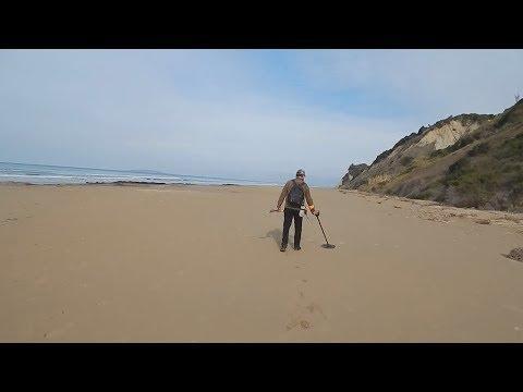 Metal Detecting (Garrett ACE 250) Beach Detecting Brings: Versace, Gold & MORE