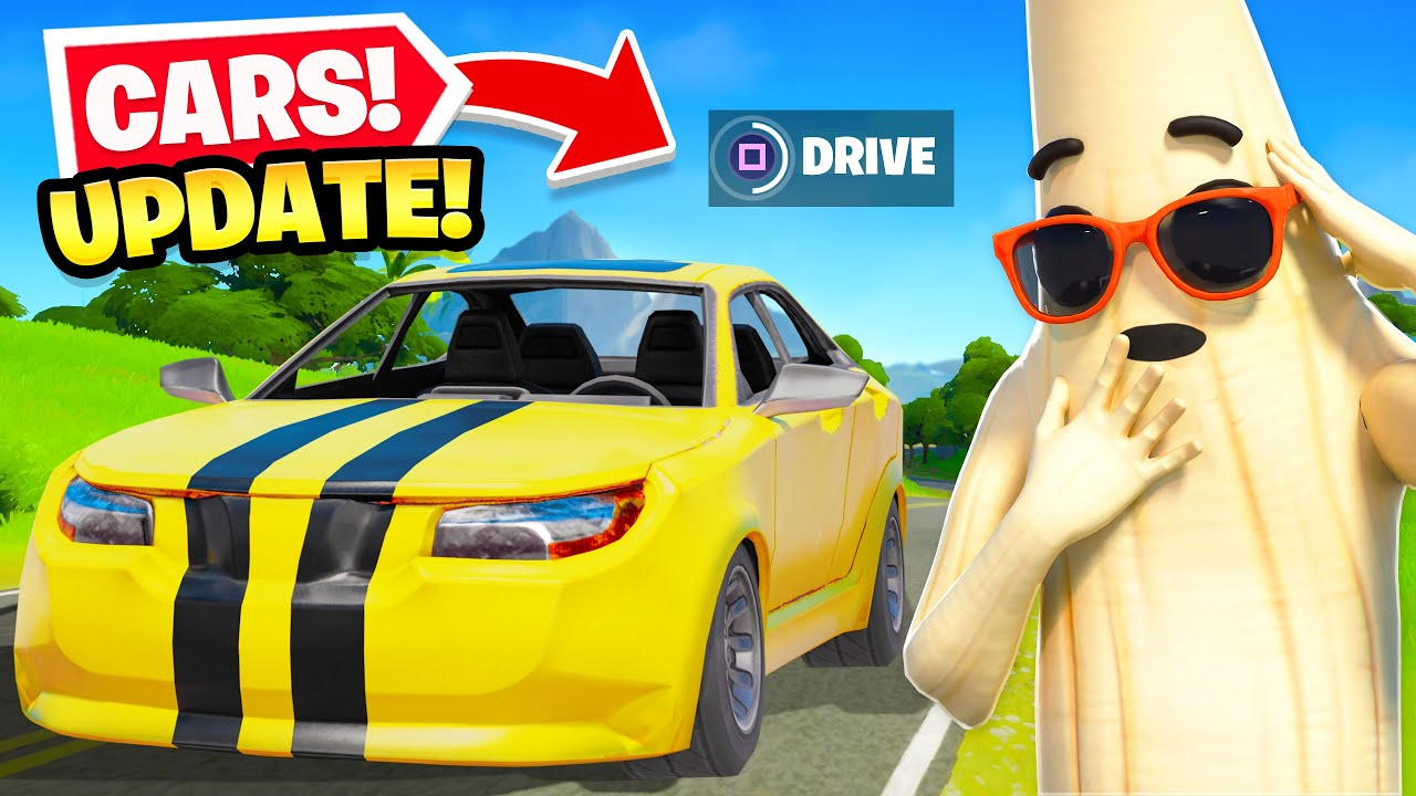 Fortnite Community Reacts To Cars Getting Delayed In V13 30 Update