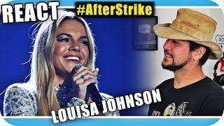 LOUISA JOHNSON -A Voz e o Talento - Marcio Guerra Canto Reagindo React Reação Pop Dance