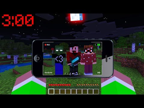 Minecraft PE : DO NOT PLAY MINECRAFT At 3:00AM