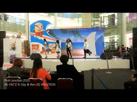 050713 f(x) Dance Cover (X)-Fac'Z - Nu ABO & Electric Shock @Pluit Village