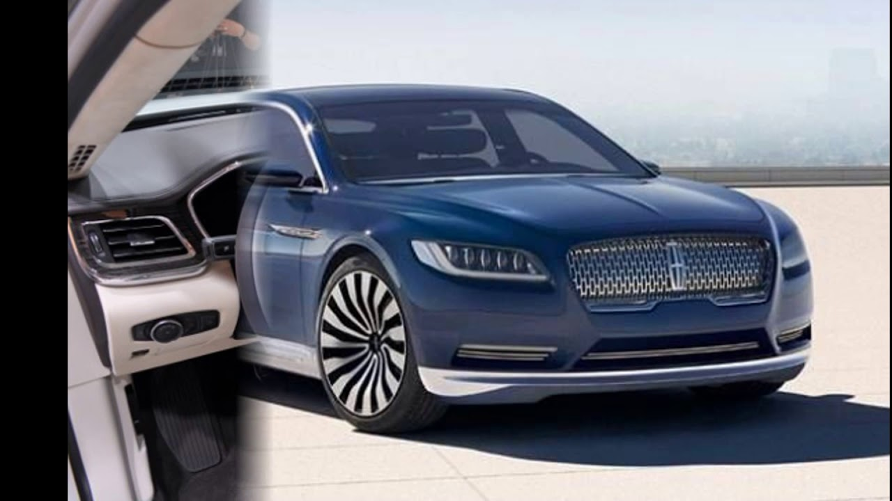 Concept 2018 Lincoln Continental Coupe Luxury