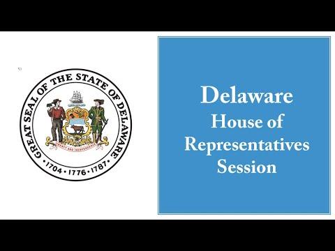 Delaware House Of Representatives - Session - 06/25/2020