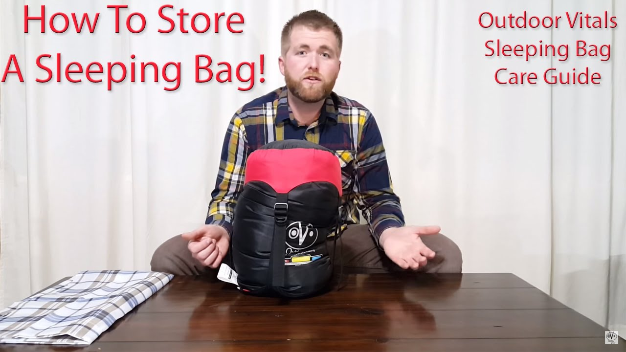 new product bf89b 602c8 How To Store A Sleeping Bag - Outdoor Vitals