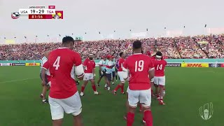 Special moment as Siale Piutau takes last kick for Tonga