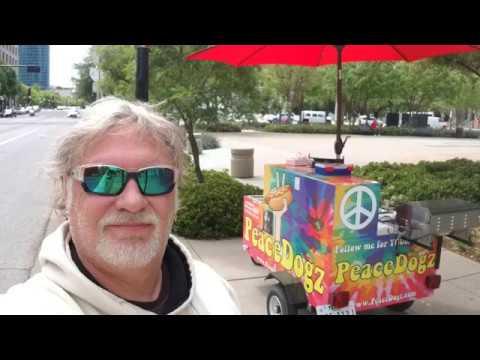 Hot Dog Vendor Interview - Peace Dogz Caterting