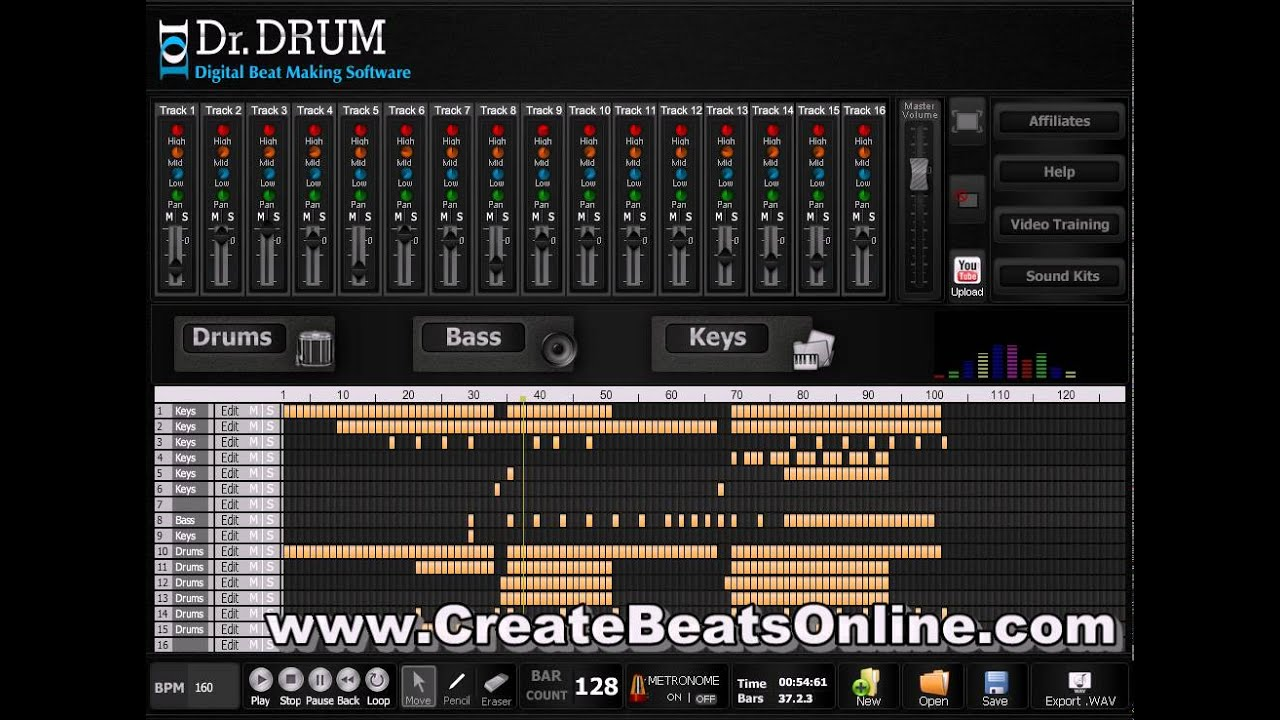 free beat making software best ever youtube. Black Bedroom Furniture Sets. Home Design Ideas