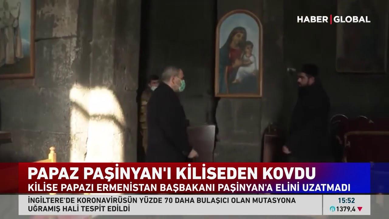Papaz Paşinyan'ı Kiliseden Kovdu!