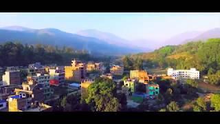 Trishuli Bazar | Nuwakot | Drone footage.
