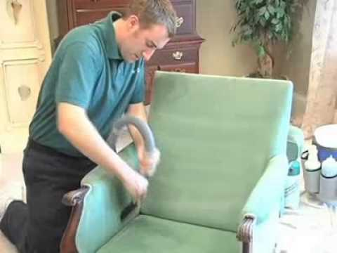 12 Step Upholstery Cleaning by I-V-Lee Carpet