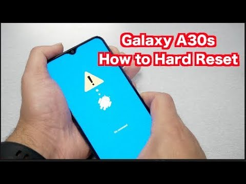 Samsung Galaxy A30s How To Hard Reset, Remove Pin,Passowrd