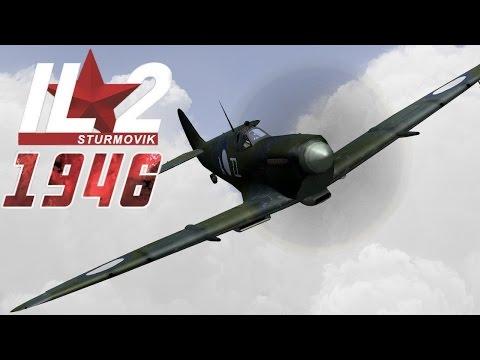 Full IL-2 1946 mission: HMS Illustrious' Seafires defend Convoy