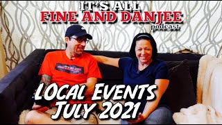 Episode 116: Local Central Florida Events for July 2021!