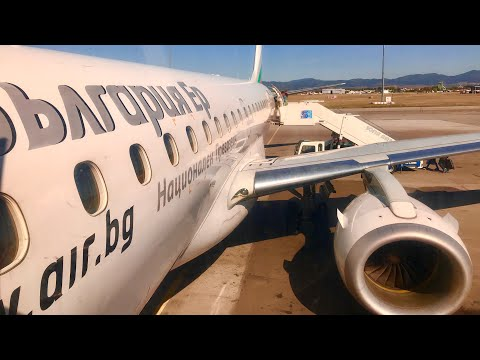 My First Time On Bulgaria Air: Sofia - Frankfurt Aboard Embraer ERJ-190 (LZ-VAR)