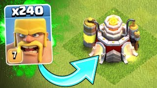 WHAT'S THAT INSIDE!?! - GEM TO MAX LEVEL!! - Clash Of Clans - NEW MAX LEVEL!
