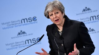 'Europe's security is our security': May on post-Brexit treaty with EU